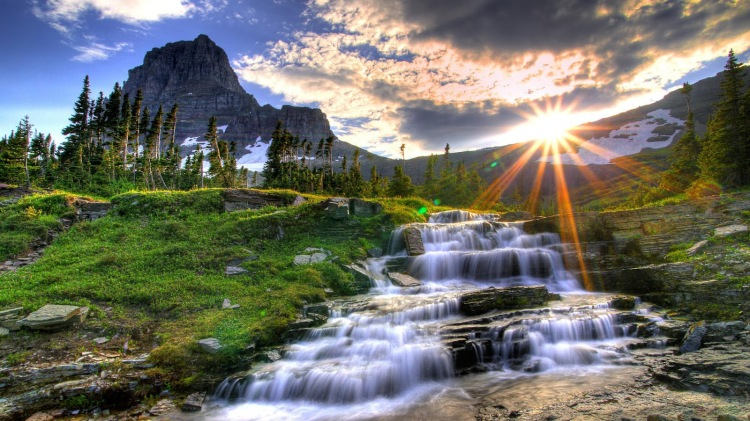 flowing-water-shining-sun-full-HD-nature-background-wallpaper-for-laptop-widescreen